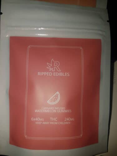 Ripped Edibles - Watermelon photo review