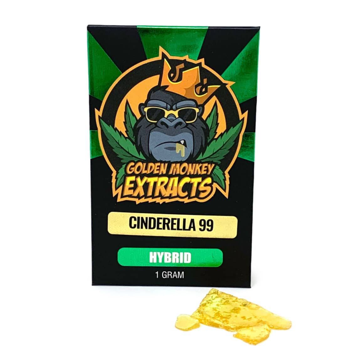 Golden Monkey Extracts Shatter Cinderella 99