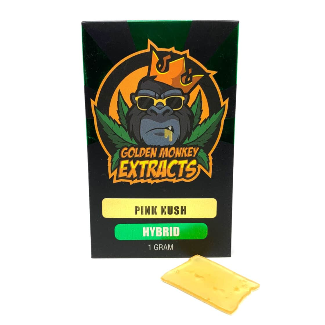 Golden Monkey Extracts Shatter Pink Kush