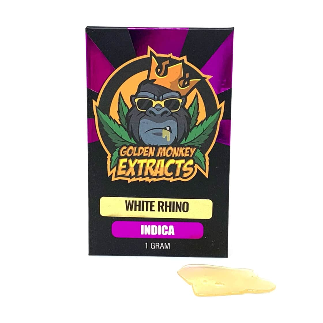 Golden Monkey Extracts Shatter White Rhino